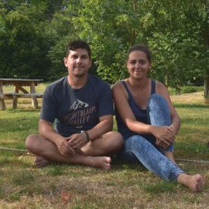 Emilie et Fred présentation blog La vie est belle